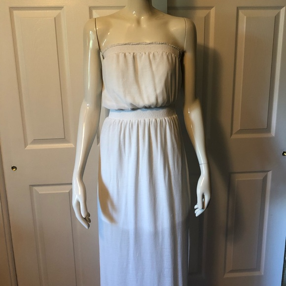 Mossimo Supply Co. Dresses & Skirts - White strapless dress